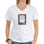 Reading Is To The Mind Women's V-Neck T-Shirt