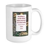 Reading Is To The Mind Large Mug