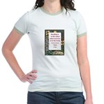 Reading Is To The Mind Jr. Ringer T-Shirt