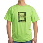 Reading Is To The Mind Green T-Shirt