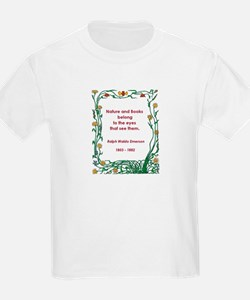 Nature and Books T-Shirt