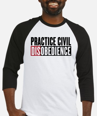 Practice Civil Disobedience Baseball Jersey