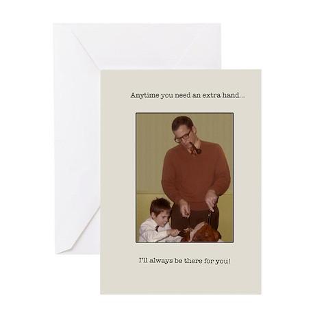 dad's helper blank Greeting Card