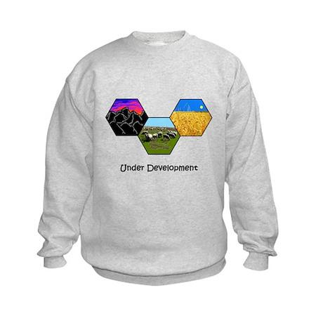 Under Development Kids Sweatshirt