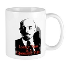 lenin's tomb is a communist p Mug