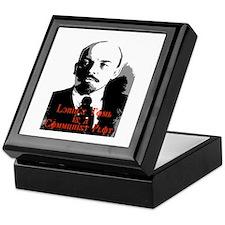 lenin's tomb is a communist p Keepsake Box