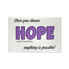 Once You Choose HOPE Rectangle Magnet