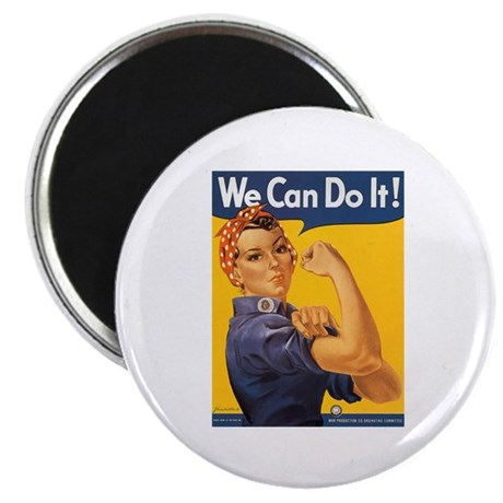 "We Can Do It Poster 2.25"" Magnet (10 pack)"