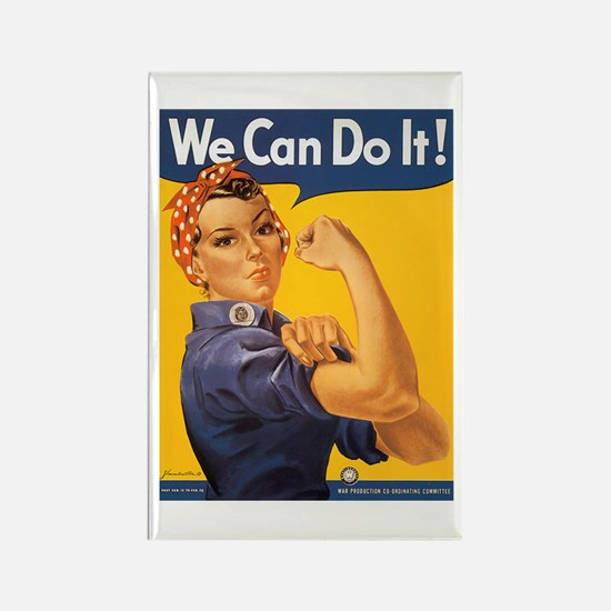We Can Do It Poster Rectangle Magnet