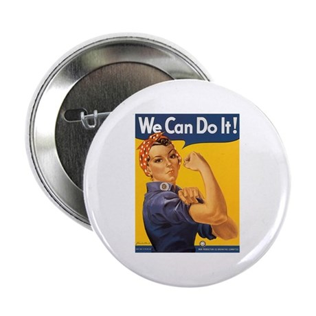 We Can Do It Poster Button