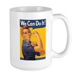 We Can Do It Poster Large Mug