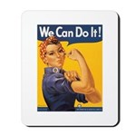We Can Do It Poster Mousepad