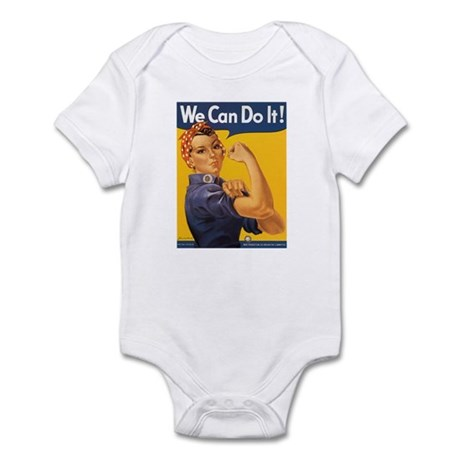 We Can Do It Poster Infant Creeper