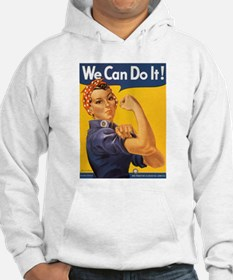 We Can Do It Poster (Front) Hoodie
