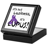 Lupus awareness Square Keepsake Boxes
