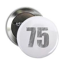 "Stonewashed 75th Birthday 2.25"" Button"