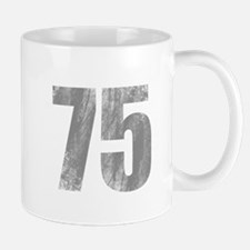 Stonewashed 75th Birthday Mug