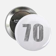 "Stonewashed 70th Birthday 2.25"" Button"