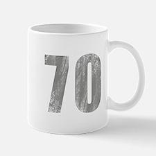Stonewashed 70th Birthday Mug
