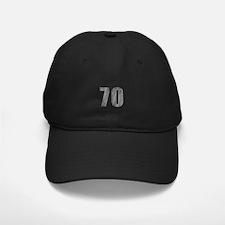 Stonewashed 70th Birthday Baseball Hat
