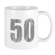 Stonewashed 50th Birthday Mug