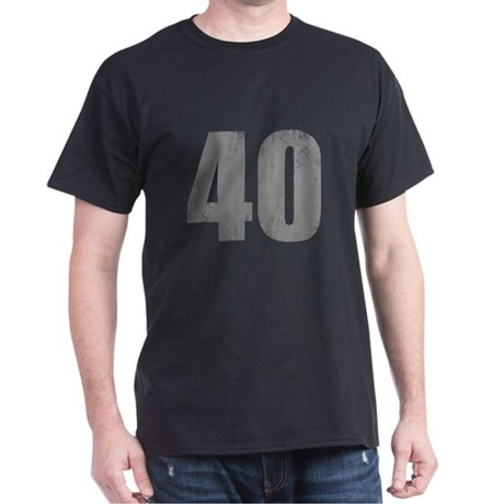 Stonewashed 40th Birthday Dark T-Shirt