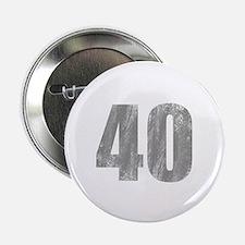 "Stonewashed 40th Birthday 2.25"" Button"