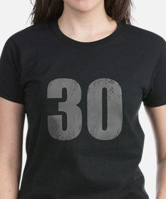Stonewashed 30th Birthday Tee