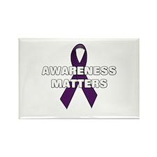Awareness Matters Rectangle Magnet