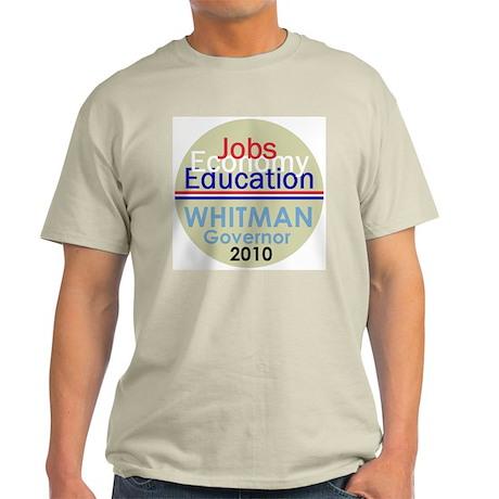 Meg Whitman Governor Californ Light T-Shirt