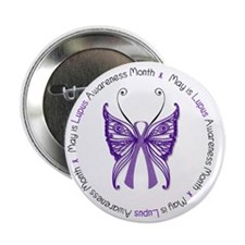 """May is Lupus Awareness Month! 2.25"""" Button"""