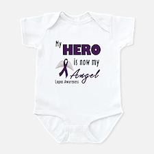 My hero is now my Angel - Lupus Infant Bodysuit