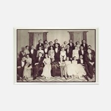 jazz age party Rectangle Magnet (100 pack)