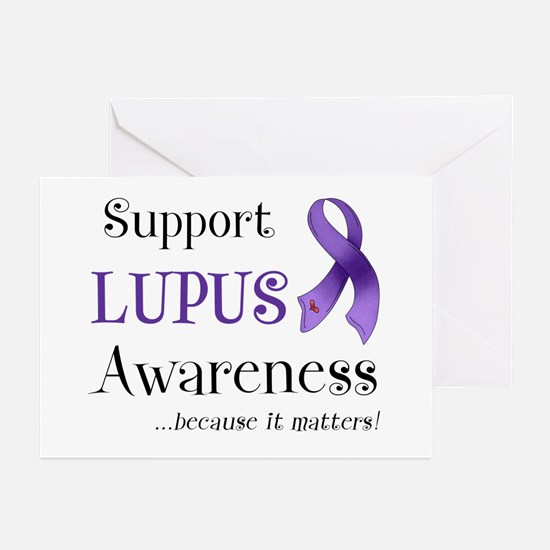Support Lupus Awareness Greeting Cards (Pk of 10)