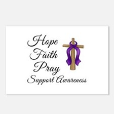 Support Awareness - Lupus Cross Postcards (Package