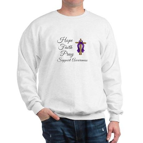 Support Awareness - Lupus Cross Sweatshirt