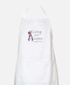 Living with Lupus One Day at a Time Apron