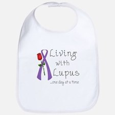 Living with Lupus One Day at a Time Bib