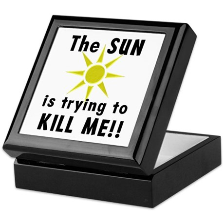 The Sun is Trying to Kill Me Keepsake Box