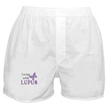 Living With Lupus Boxer Shorts