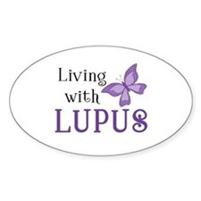 Living With Lupus Decal