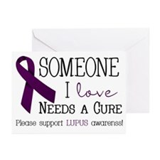 Someone I Love Needs a CURE! Greeting Cards (Pk of
