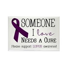 Someone I Love Needs a CURE! Rectangle Magnet (10