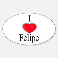 Felipe Oval Decal