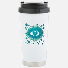 All Seeing Eye Stainless Steel Travel Mug