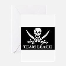 Unique Team leach Greeting Card