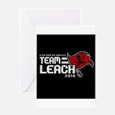 Funny Team leach Greeting Card