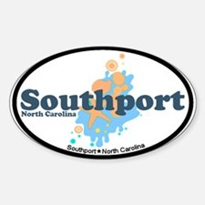 Southport NC - Seashells Design Decal