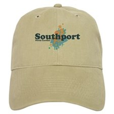 Southport NC - Seashells Design Cap