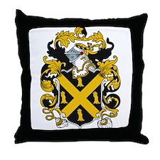 Noune Coat of Arms Throw Pillow